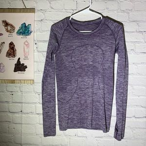 Lululemon Run Swiftly Purple Long Sleeve top 6